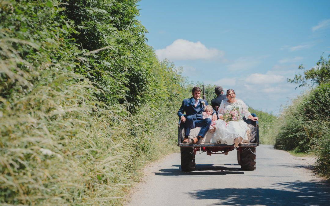 Cornwall Farm Wedding Photographer