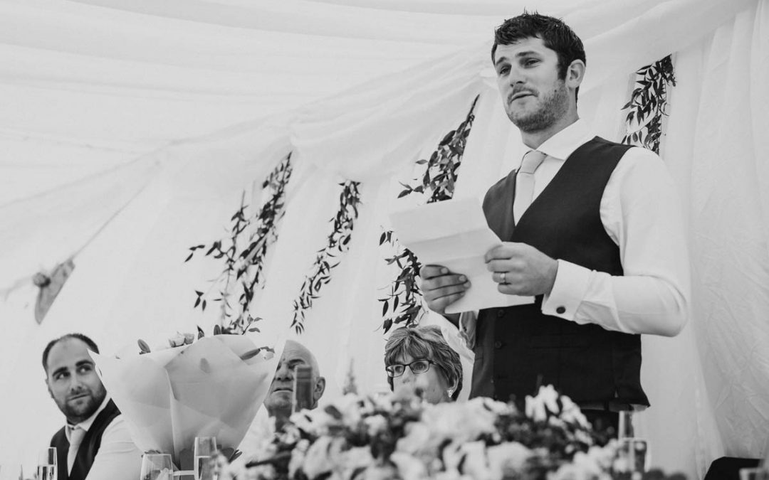 How to master your wedding speech