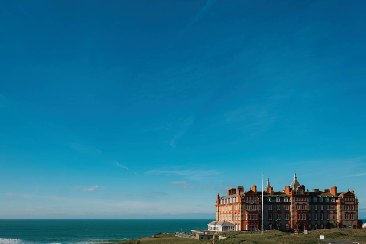 The headlands hotel and spa, Newquay, Cornwall