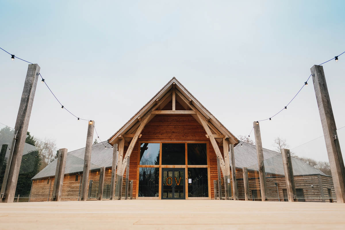 the front of the mill barns wedding venue