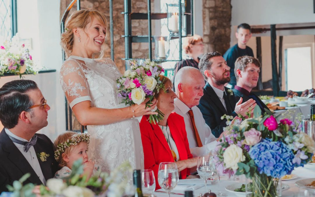 I'm a Bride – Should I make a Speech?!