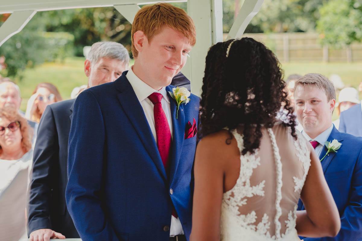 bride and groom dancing at their dartmoor wedding