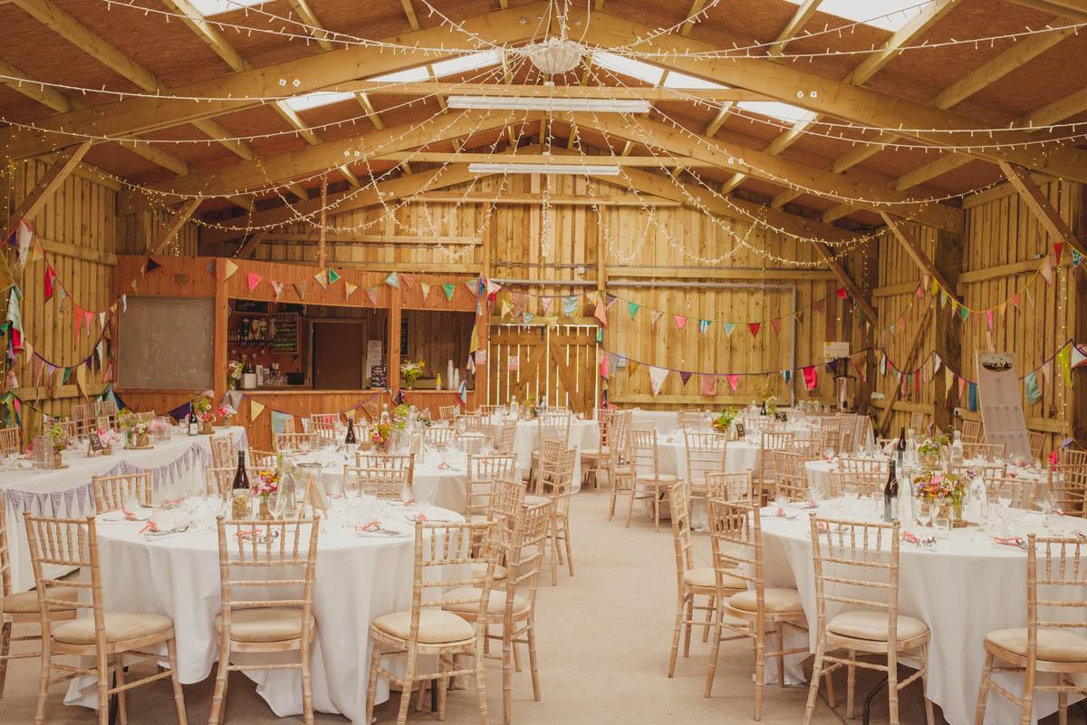 barn at canonteign falls wedding venue